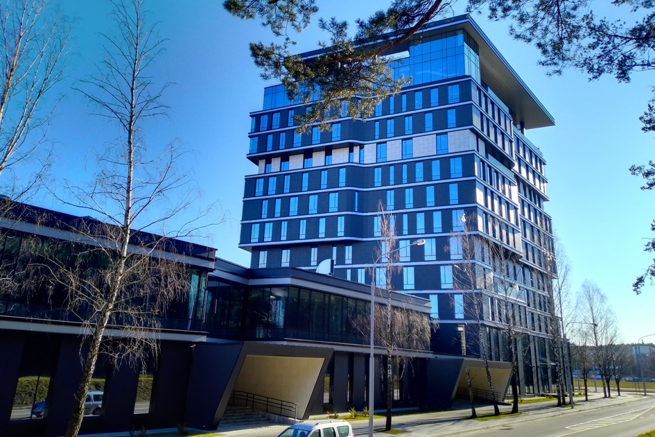 Вентилируемые фасады в архитектуре Минска